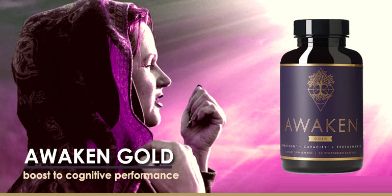 Awaken Gold Premium Nootropic Supplement